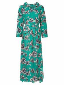 Teija floral printed dress - Green