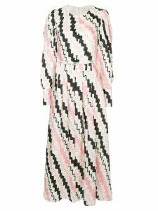 Rejina Pyo printed dress - White
