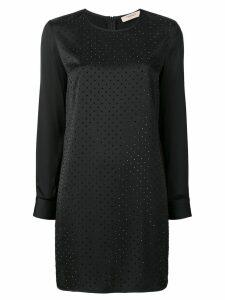 Twin-Set crystal-embellished dress - Black