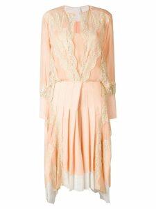 Chloé lace embellished dress - Neutrals