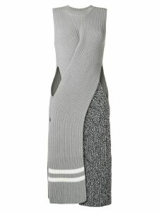 MRZ ribbed knit dress - Grey