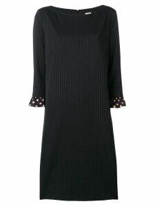 Antonio Marras pinstripe shift dress - Black
