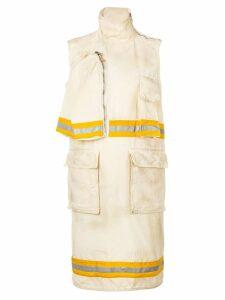 Calvin Klein 205W39nyc street inspired dress - Neutrals