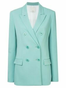 Tibi oversized tuxedo blazer - Blue