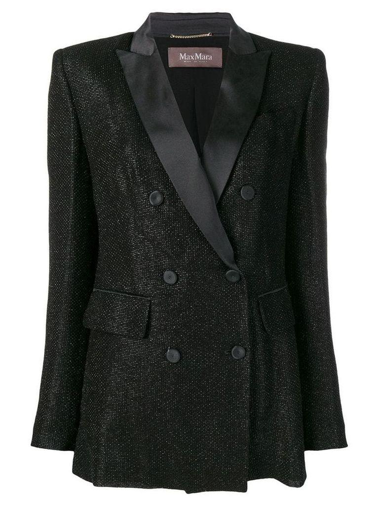 Max Mara double-breasted blazer - Black