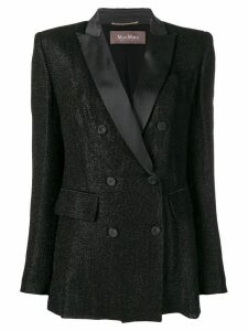 Max Mara double-breasted blazer - Black