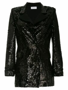 16Arlington sequinned blazer - Black