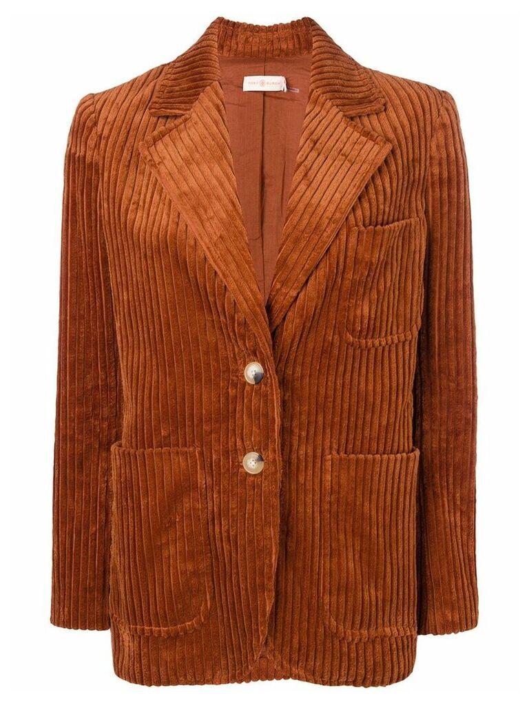 Tory Burch corduroy blazer - Orange