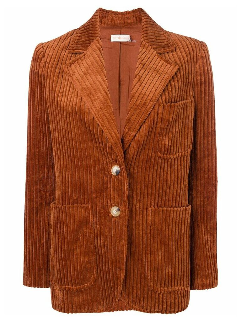 Tory Burch corduroy blazer - Orange