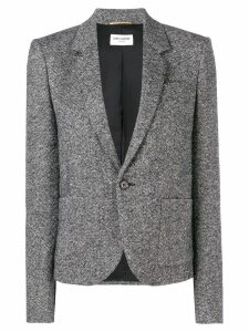 Saint Laurent fitted blazer - Black