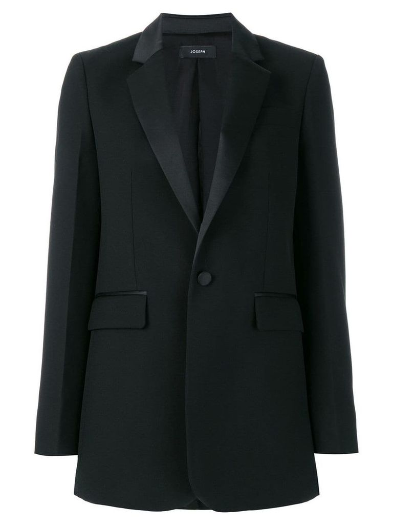 Joseph evening single-breasted blazer - Black