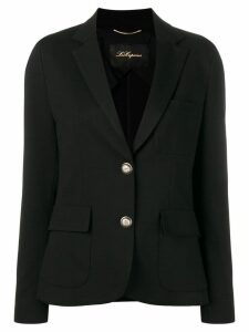Les Copains classic single-breasted blazer - Black