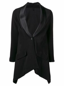 Unravel Project asymmetric blazer - Black