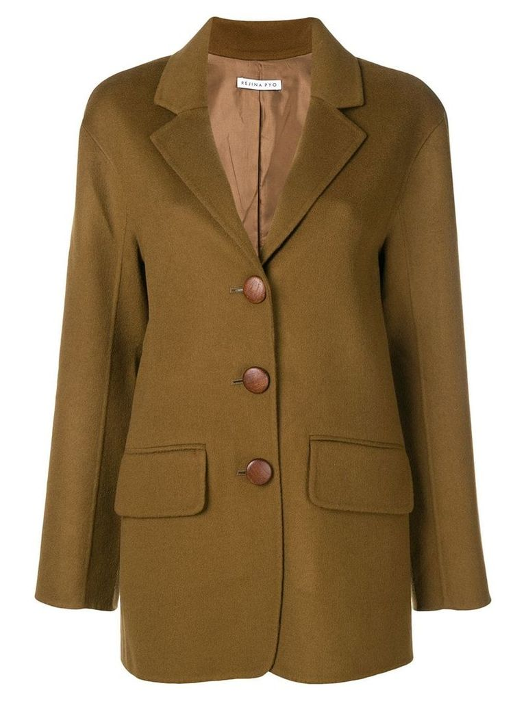 Rejina Pyo mid-length blazer - Brown