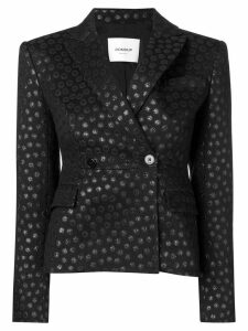 Dondup dotted fitted jacket - Black