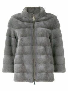 Cara Mila Alexandra zipped jacket - Grey