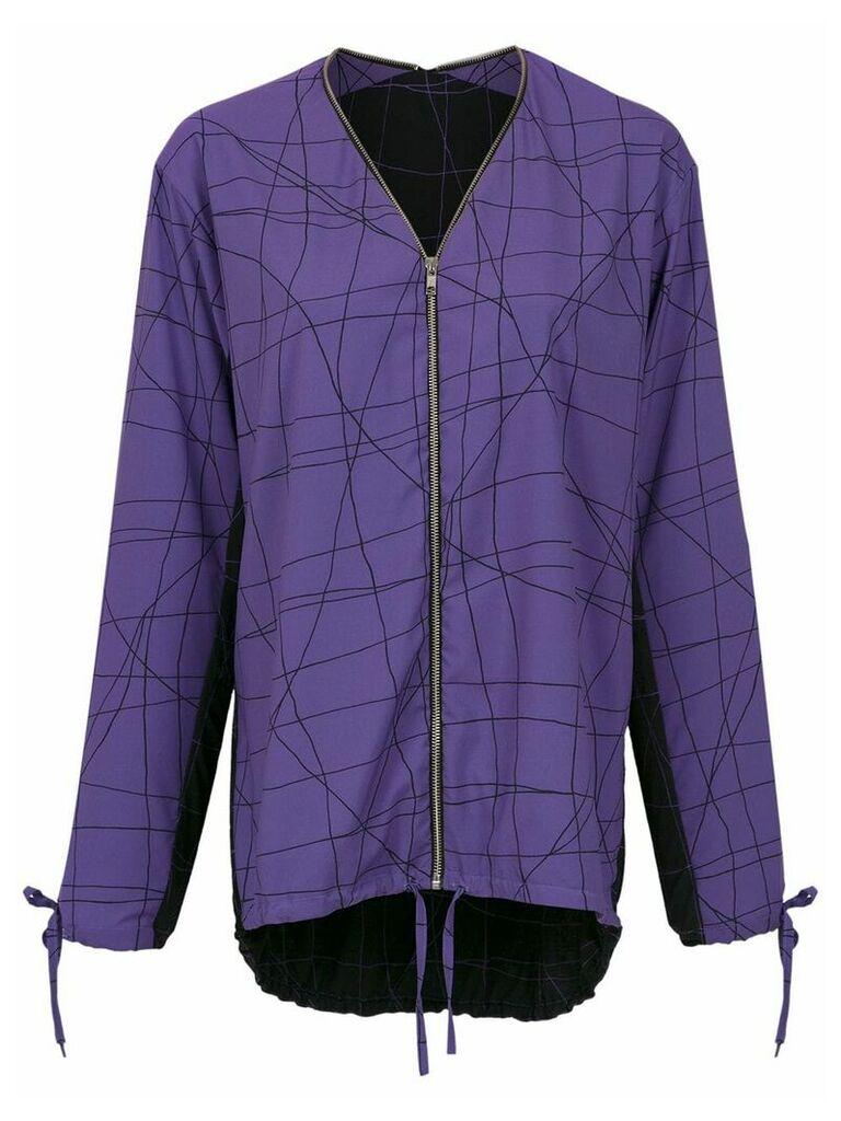 Uma Raquel Davidowicz Cesta jacket - Purple