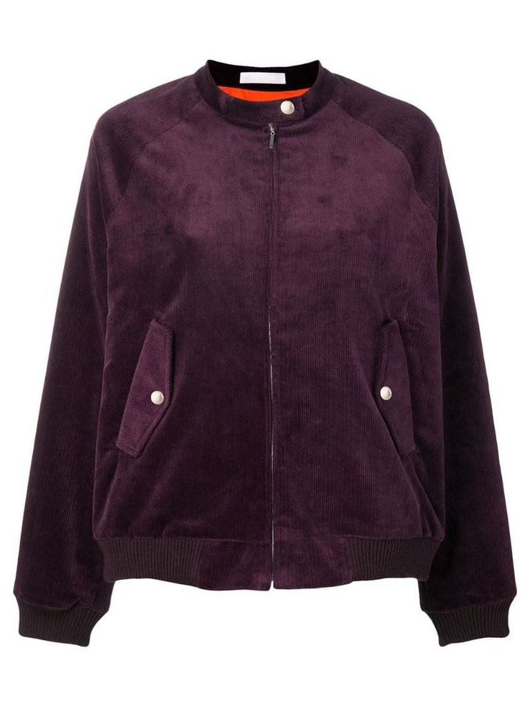 Peter Jensen loose fitted jacket - Purple
