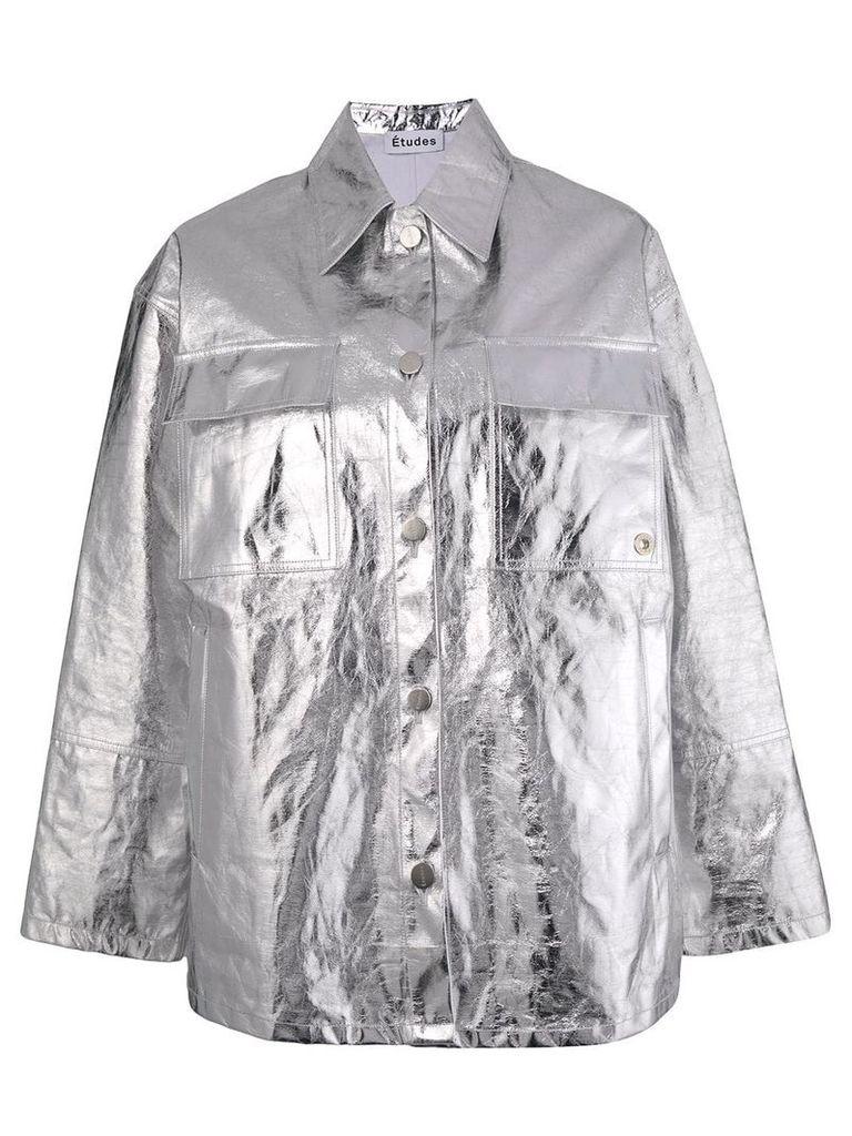 Études Affinity shirt jacket - Metallic