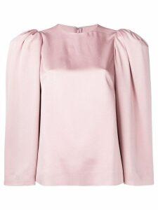Valentino structured shoulder cady top - Pink