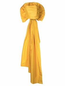 Bambah back bow tube top - Yellow