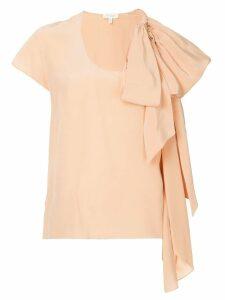 Delpozo bow detail blouse - Pink