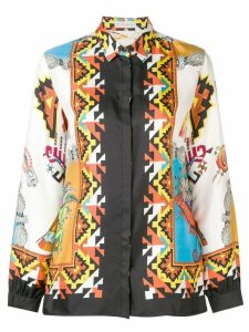 Etro printed loose blouse - Orange