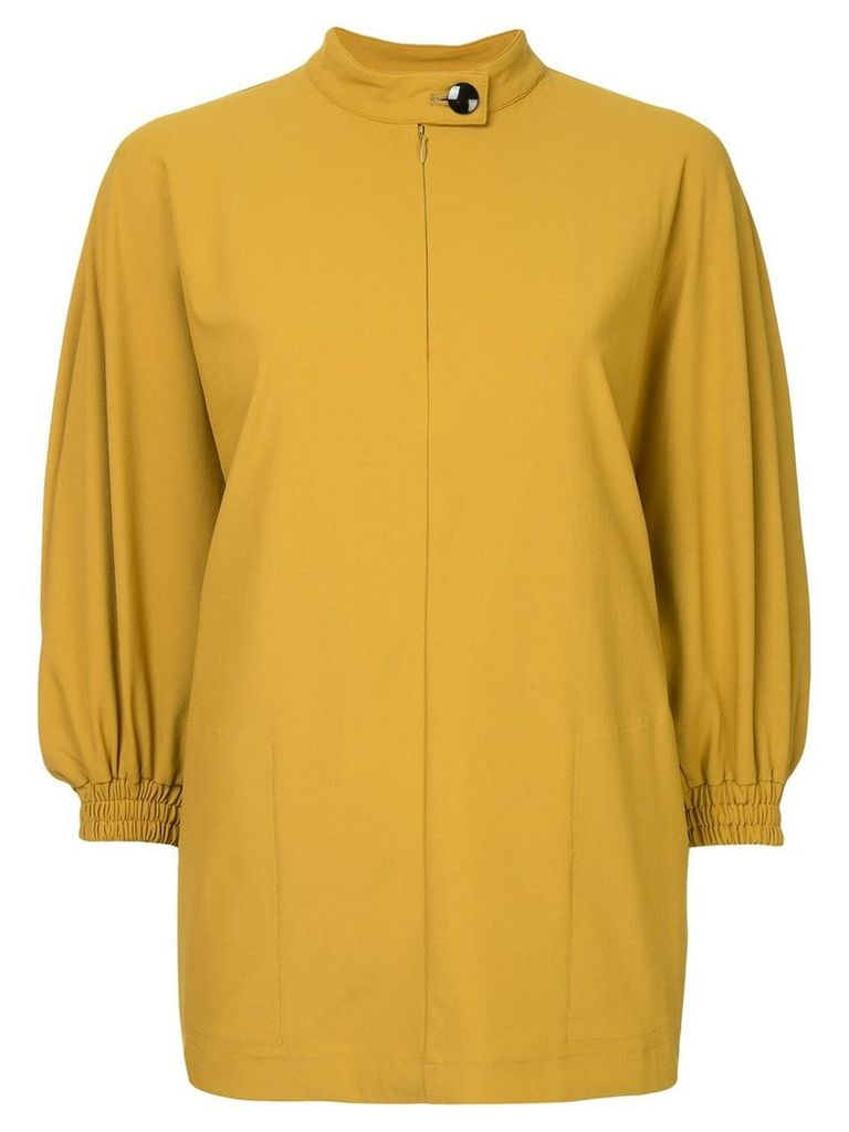 08Sircus band collar blouse - Yellow