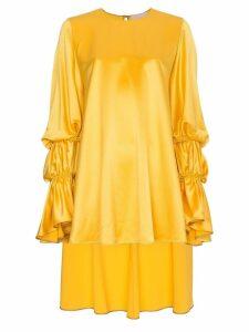Roksanda Rosina Silk Blouse - Yellow
