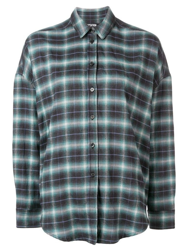 Adaptation plaid shirt - Green