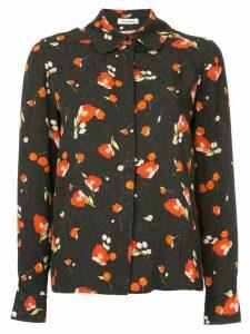 Vilshenko floral print shirt - Black
