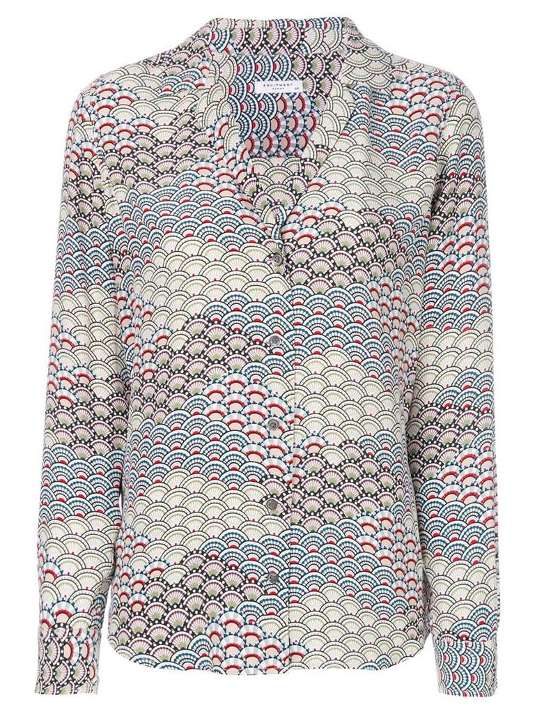 Equipment abstract pattern shirt - Multicolour