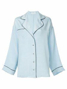 Racil oversized shirt - Blue