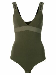 Paco Rabanne fitted bodysuit - Green