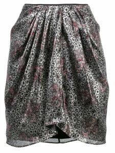 Isabel Marant Hemen skirt - Silver