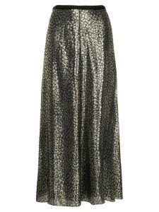 Layeur Barbara metallic skirt - Gold