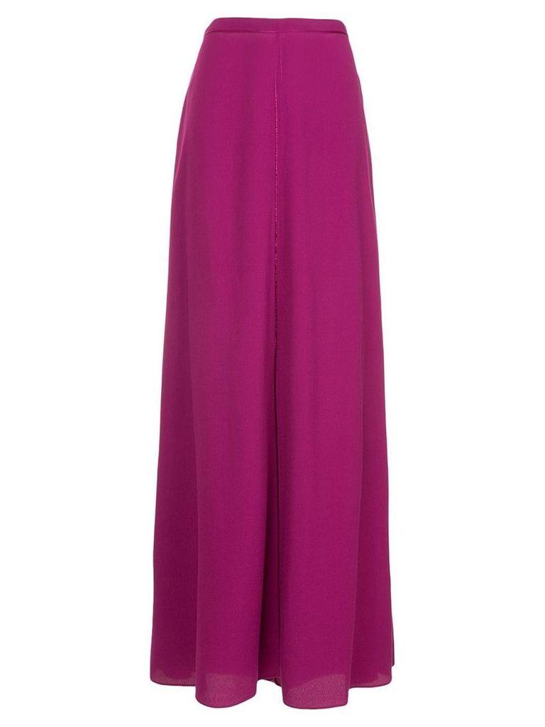Layeur A-line maxi skirt - Purple