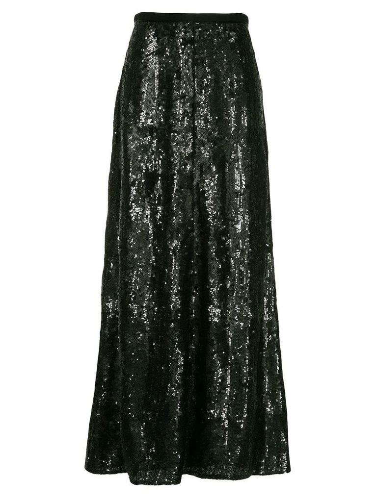 Layeur Barbara sequin embellished skirt - Black