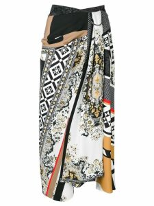 Mary Katrantzou abstract print skirt - Black