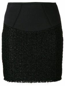 Alexander Wang zipped mini skirt - Black