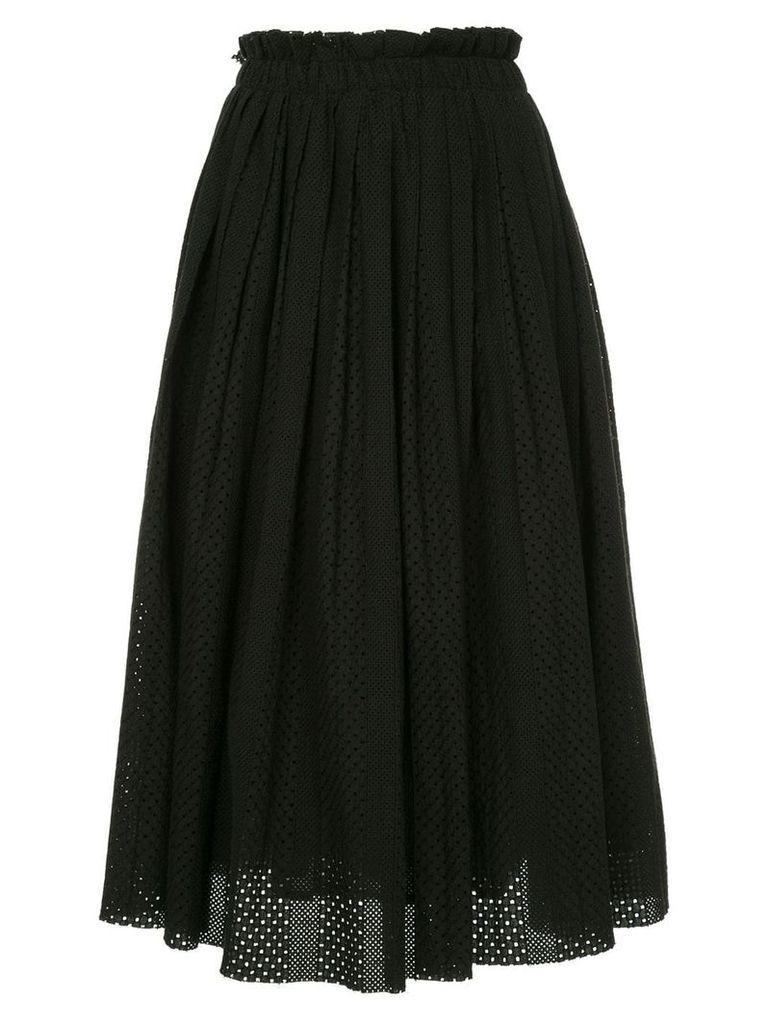 Onefifteen fulll fitted skirt - Black