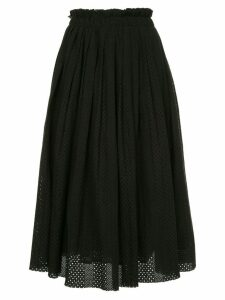 Onefifteen fulll fitted skirt - Black
