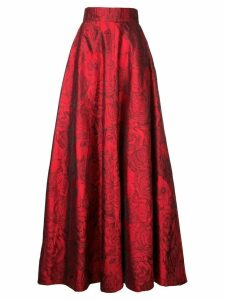 Bambah jacquard princess skirt - Red