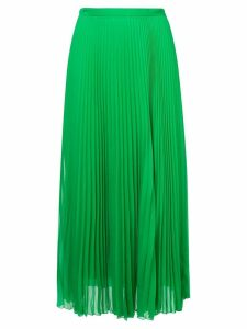 Marco De Vincenzo pleated midi skirt - Green