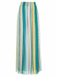 Missoni long fine knit skirt - Multicolour