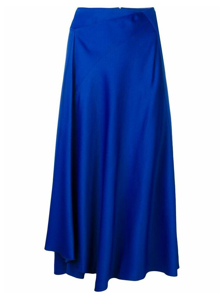 Joseph draped skirt - Blue