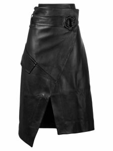Petar Petrov Rita leather skirt - Black