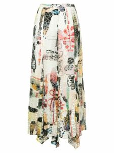 Rachel Comey printed skirt - Multicolour