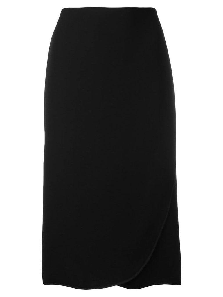 Valentino petal hem skirt - Black