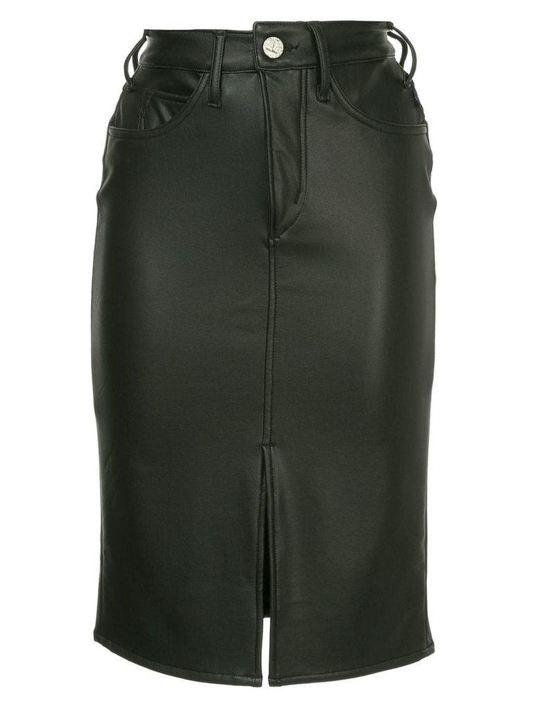 Mcguire Denim high-rise pencil skirt - Black